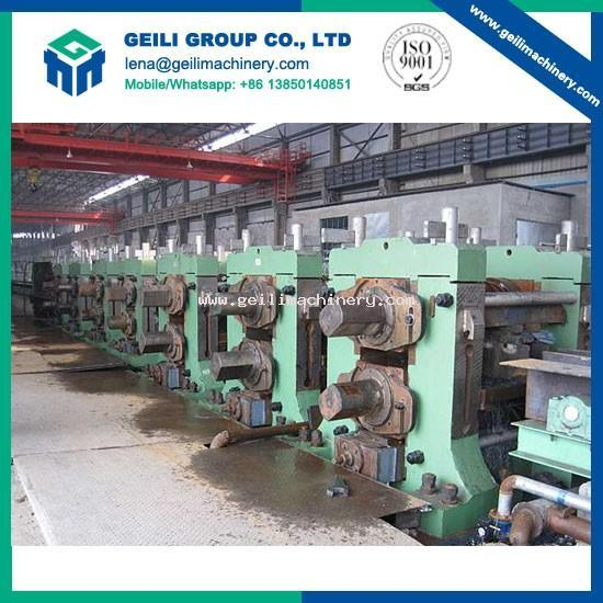 Tandem rolling mills for wire rod