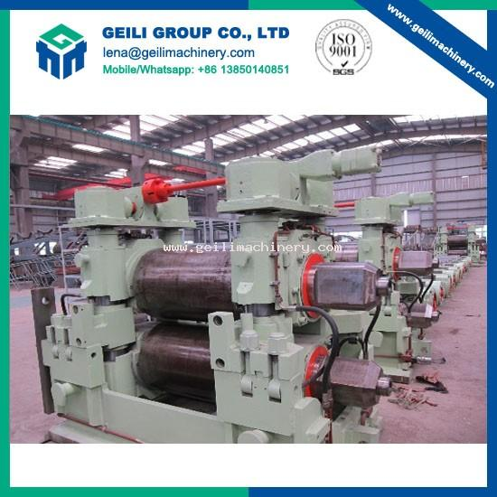 Rolling mill for steel rolling process