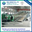 Laying head for steel rolling plant