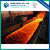 The high speed wire rod production line