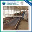 Wire rod collection and conveyor table